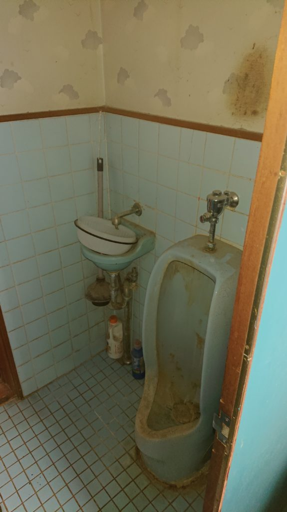 豊橋市冨士見町、トイレの改装工事